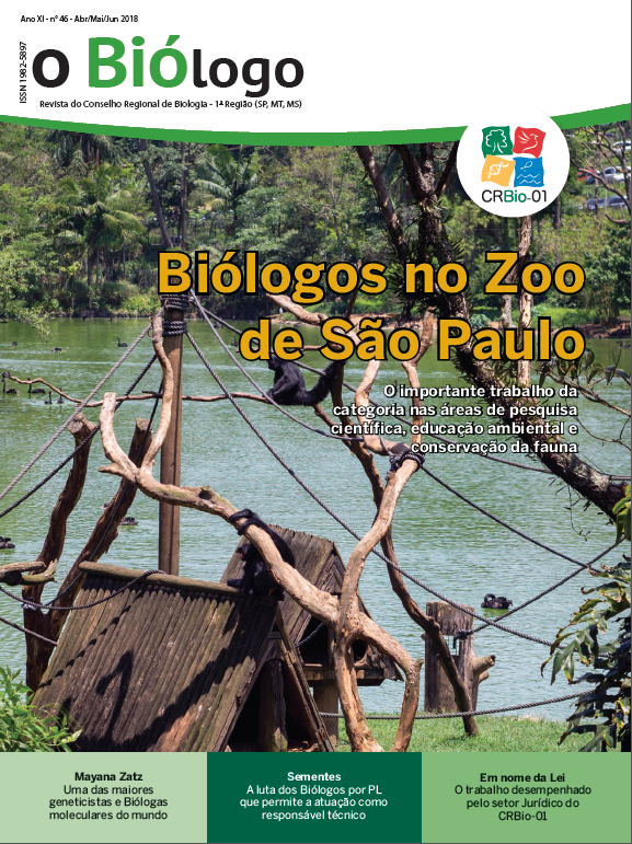 Revista O Biólogo - Ed. 46 Abr/Mai/Jun 2018
