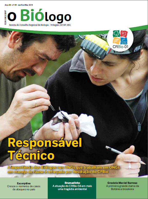 Revista O Biólogo - Ed. 49 Jan/Fev/Mar 2019